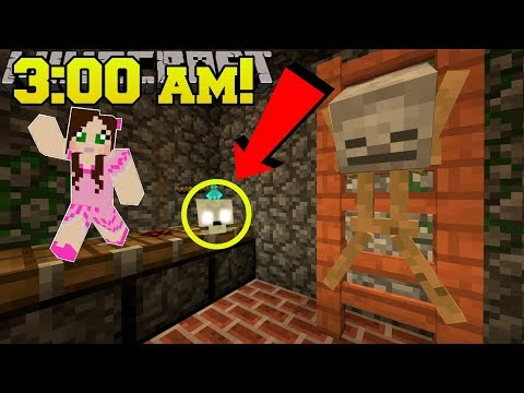 Minecraft: DO NOT ENTER THE BASEMENT AT 3:00 AM!! - Custom Map