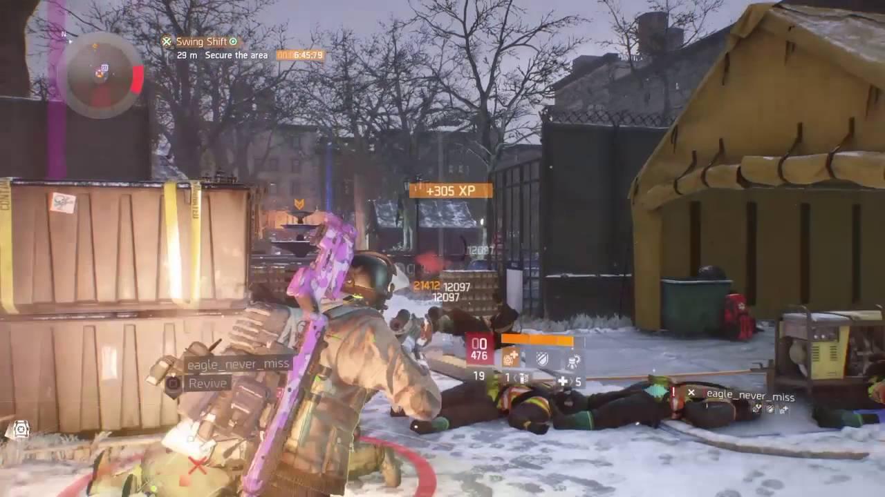the division hvt intel