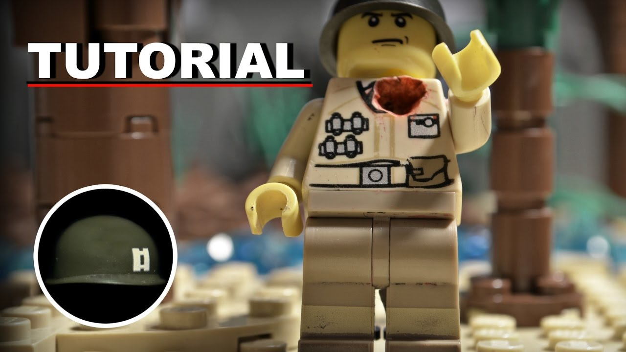 LEGO® Stop Motion Blood Effects | TUTORIAL - YouTube