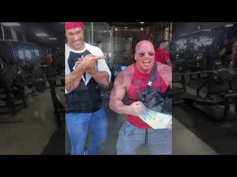 HUCK FINN MEETS MIKE O'HEARN DRINKS 50 BEERS & BENCHES 500LBS