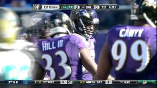 Will Hill's UNREAL WWE-Style Tackle on Jags' WR! | Jaguars vs. Ravens | NFL