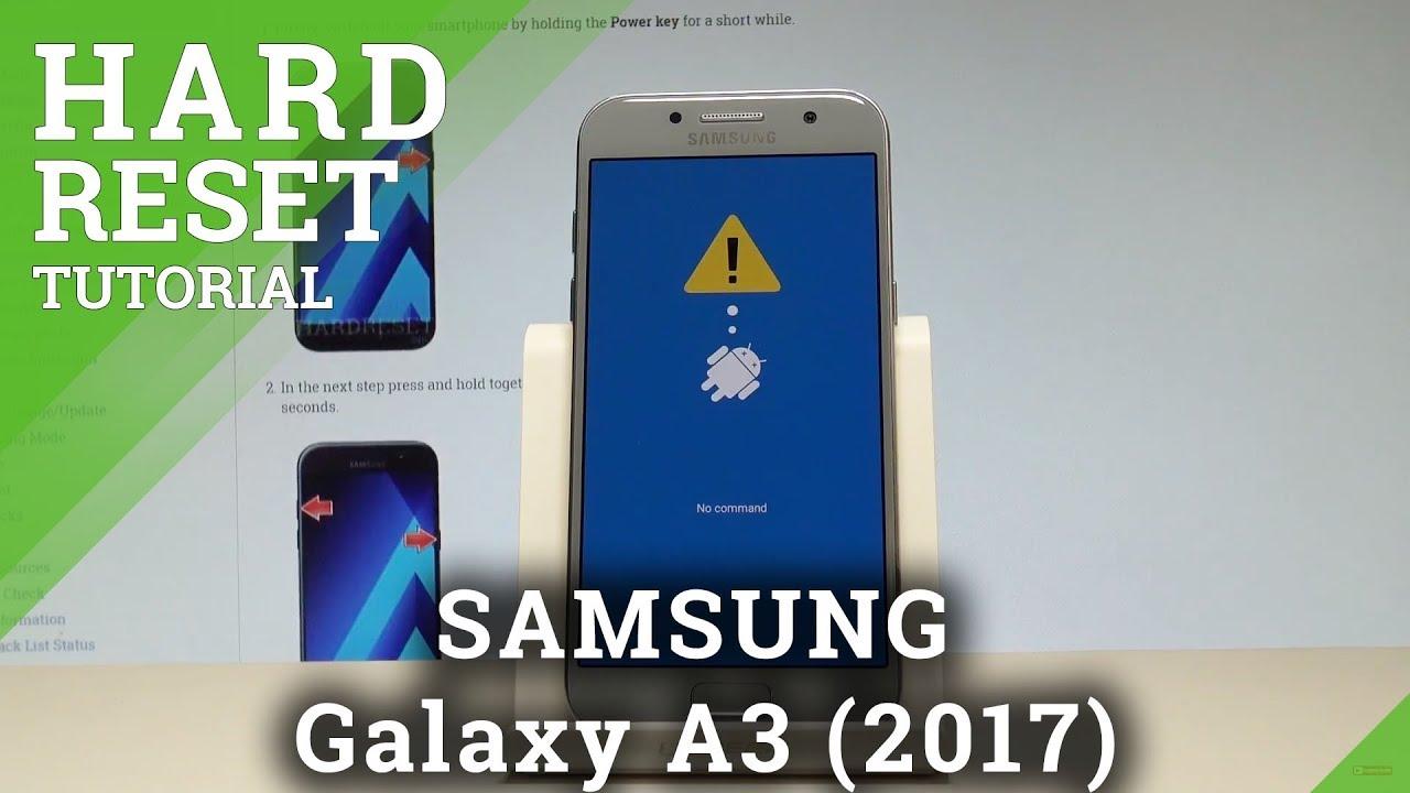 Hard Reset SAMSUNG Galaxy A50 - HardReset info