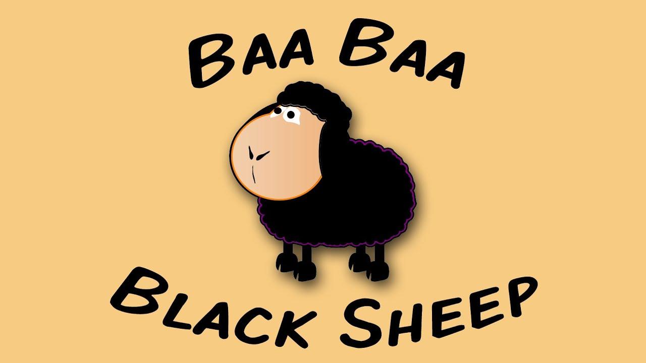 Baa Baa Black Sheep Sing Along Song For Children