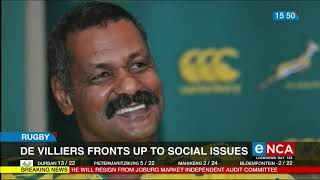 Former Springboks coach adds voice to Black Lives Matter and GBV