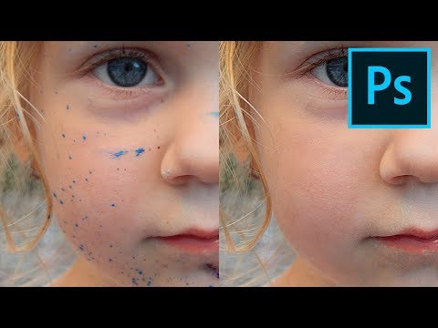 Learn To Make A Frequency Separation Action | Photoshop