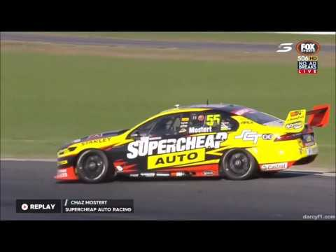 V8 Supercars Winton 2016 All Crashes and Fails