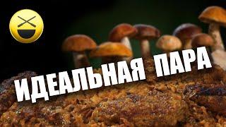 Мясные рулеты с грибами по рецепту Сталика Ханкишиева