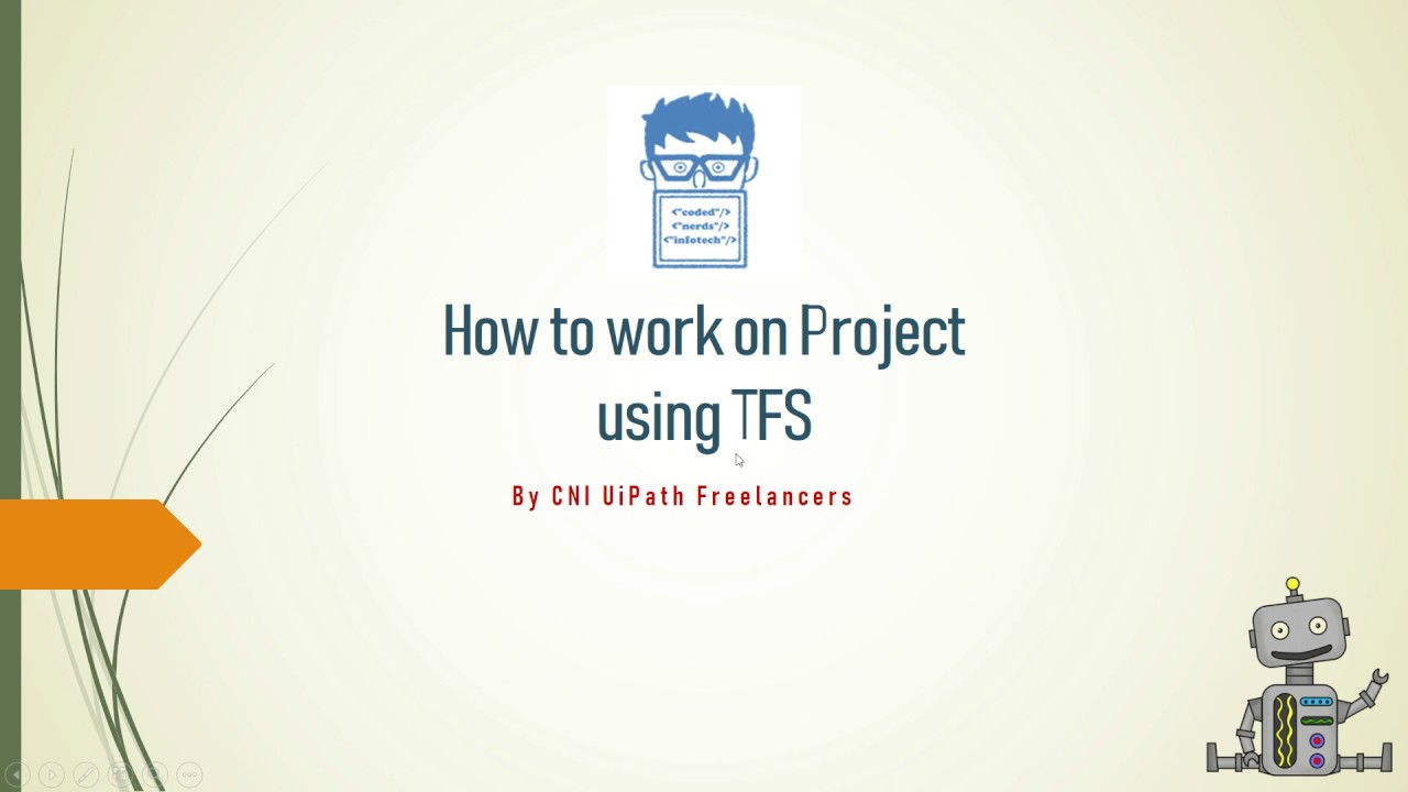 How to work on Project using Team Foundation Server in UiPath (Hindi)