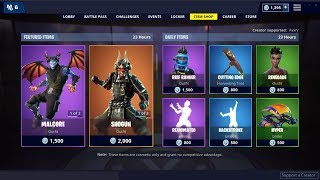 Shogun Skin y Backstroke Emote (Atrás) ! Fortnite Item Shop 28 de enero de 2019