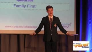 """JJ Bird, Third, Jack Petchey's """"Speak Out"""" Challenge! Bromley Regional Final 2016-17"""