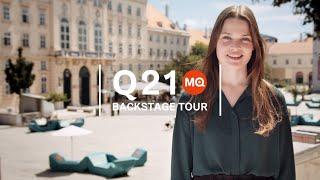 Q21 Backstage Tour - Q21, the creative space at MuseumsQuartier Wien