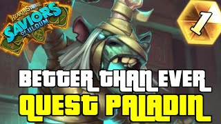QUEST REBORN PALADIN IS AMAZING POST PATCH | SAVIORS OF ULDUM | HEARTHSTONE