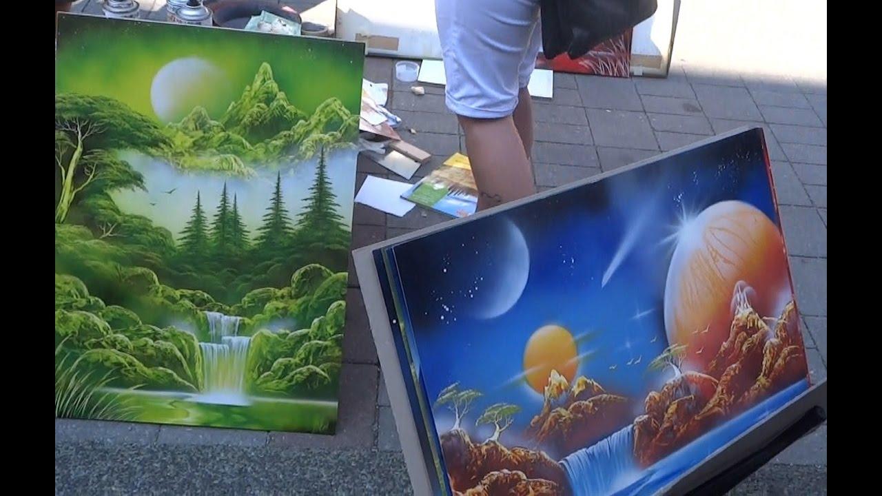 Spray Paint Art, Amazing Street Artist, Amazing Spray ...