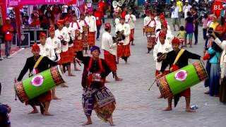 Download Video Tarian Gendang Beleq Musik Tradisional Sasak di Pulau Lombok MP3 3GP MP4