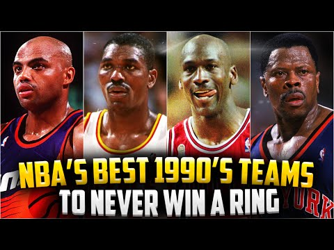 GREAT NBA Teams To NEVER Win A Championship - In The 1990