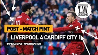Baixar Liverpool 4 Cardiff 1   Post Match Pint