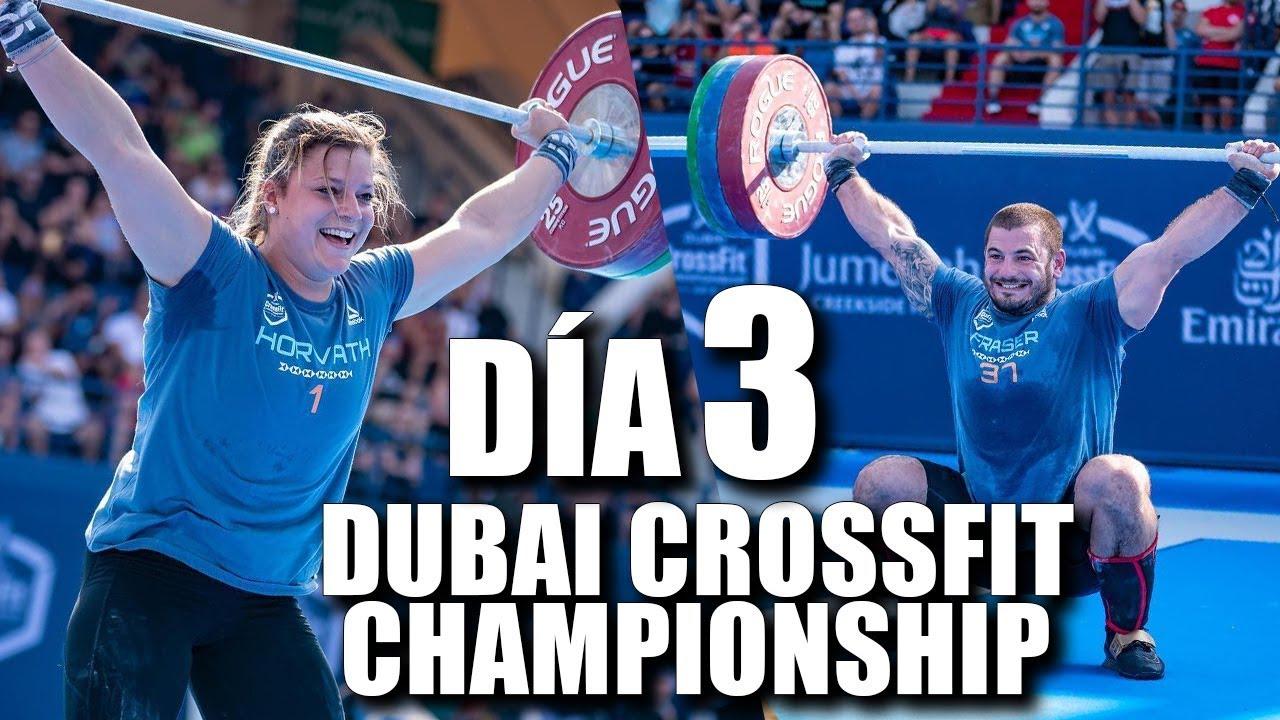 Dubai Crossfit Championship 2018 Día 3 Mat Fraser Se Sale