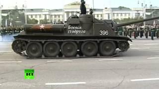 Чита отметила 70-летие окончания Второй мировой войны грандиозным парадом(В Чите в честь 70-летия окончания Второй мировой войны прошел военный парад. В нем приняли участие свыше..., 2015-09-02T09:58:10.000Z)