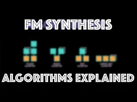 Yamaha DX7 FM Synthesis Tutorial | Algorithms Explained