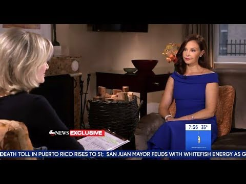 Ashley Judd  - Shares Her Harvey Weinstein Story (GMA)