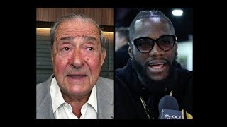 BREAKING! BOB ARUM OFFERS DEONTAY WILDER A 5 FIGHT DEAL TO FIGHT ON ESPN+