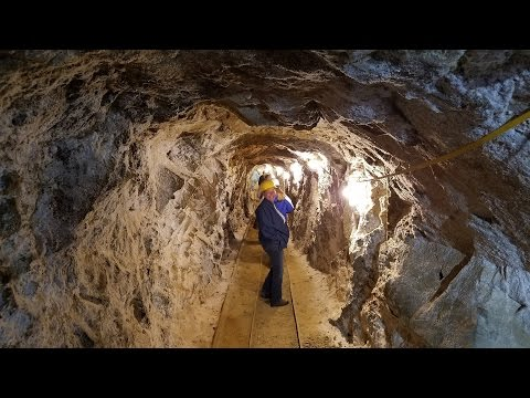 Journey 1000 ft. Underground  - Mollie Kathleen Gold Mine - Cripple Creek - 1st person view