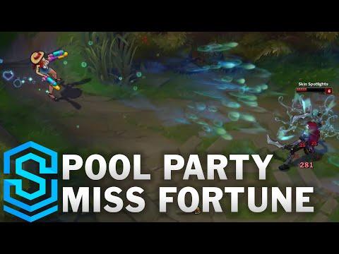 Pool Party Miss Fortune Skin Spotlight - Pre-Release - League of Legends