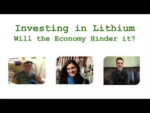 Investing in Lithium - Will the Crash Hinder it?