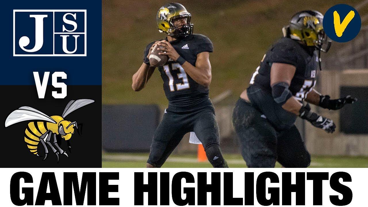 #21 Jackson State vs Alabama State Highlights | FCS 2021 Spring College Football Highlights