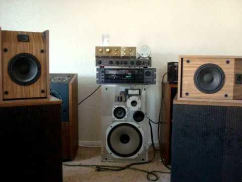 Bose 201 series 3 speakers - YouTube