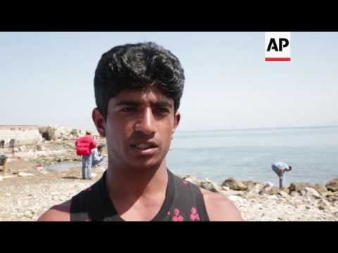 Migrants on Lesbos worried about deportations