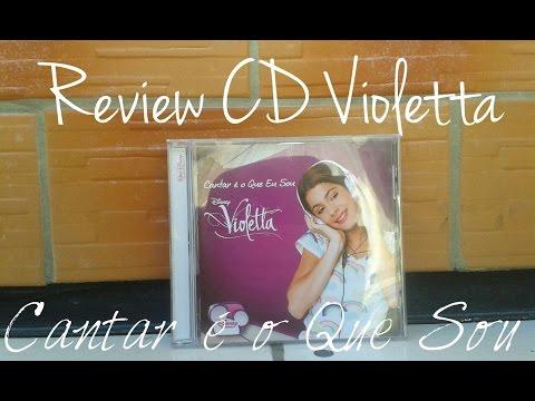 Review: CD Violetta Cantar é o que sou