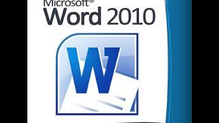 شرح برنامج وورد 2010 - الدرس رقم 1