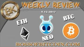 Week in Review: BITCOIN NEO ETHEREUM ⚡ Free Bitcoin Trading Tips Cryptocurrency Technical Analysis