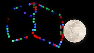 Super lua cheia ilumina noite de terca-feira