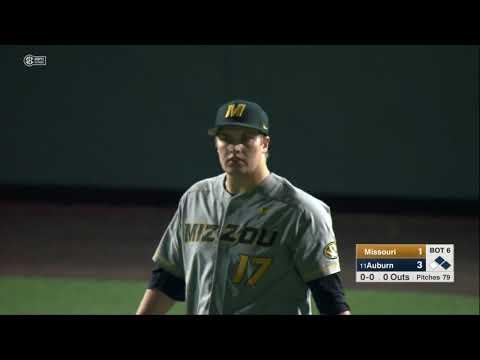 Auburn Baseball vs Missouri Game 1 Highlights