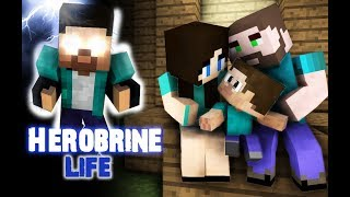 Monster School Herobrine s Life Sad but very touching story Best Minecraft Animation