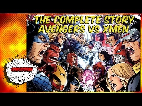 Avengers VS X-Men - Complete Story | Comicstorian