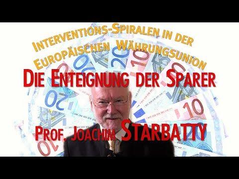 Prof. Joachim Starbatty - Die Enteignung der deutschen Sparer hat begonnen
