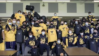 Surprising My Former High School's Football Team Pt. 1   The Rock