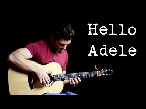 Hello - Adele    Fingerstyle Guitar Interpretation