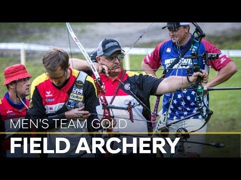 Germany v USA –men's team gold final | Cortina 2018 World Archery Field Championships