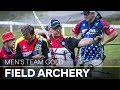 Germany v USA – men's team gold final | Cortina 2018 World Archery Field Championships