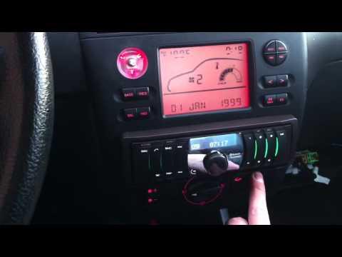 Seat Cordoba - Custom 1 DIN radio slot