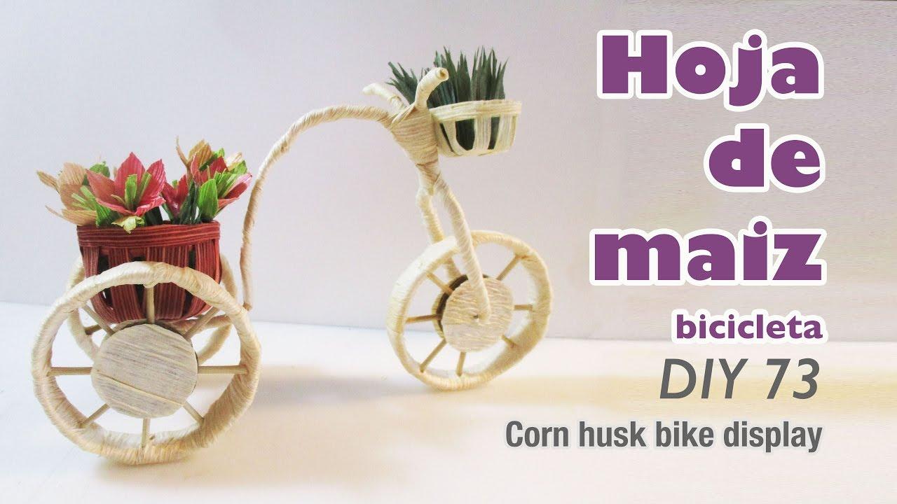 Como hacer manualidades con hoja de maiz 73 how to make - Ver como hacer manualidades ...