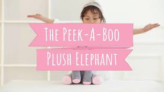 Floppy The PeekABoo Elephant Plush Toy Sings & Plays Peek-A-Boo, The Hottest Baby Toy of 2019!