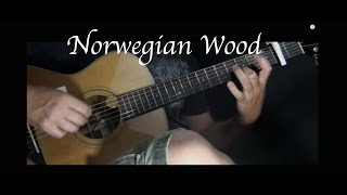 The Beatles - Norwegian Wood - Fingerstyle Guitar