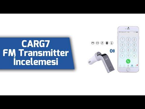 CarG7 Bluetooth Usb Girişli FM Transmitter İnceleme - Sipariş