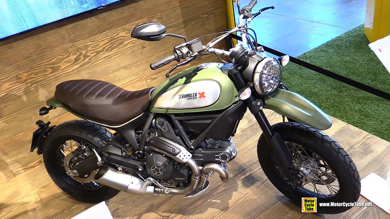 2015 ducati scrambler urban enduro - walkaround - 2014 new york