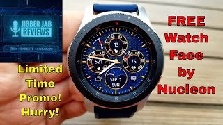 *FREEBIE ALERT!* Samsung Galaxy Watch/Gear Watch Face by Nucleon - Jibber Jab Reviews!